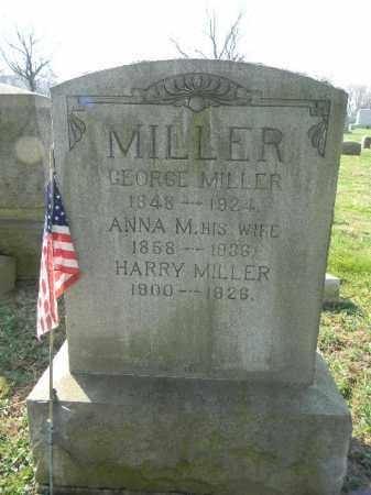MILLER, ANNA M. - Northampton County, Pennsylvania | ANNA M. MILLER - Pennsylvania Gravestone Photos