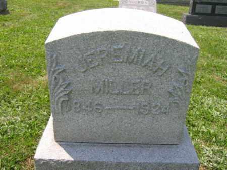 MILLER, JEREMIAH - Northampton County, Pennsylvania   JEREMIAH MILLER - Pennsylvania Gravestone Photos
