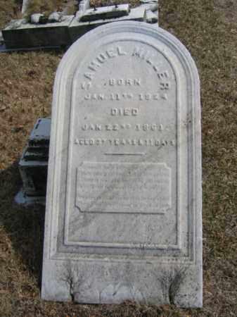 MILLER, SAMUEL - Northampton County, Pennsylvania | SAMUEL MILLER - Pennsylvania Gravestone Photos