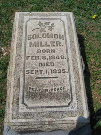 MILLER, SOLOMON - Northampton County, Pennsylvania | SOLOMON MILLER - Pennsylvania Gravestone Photos