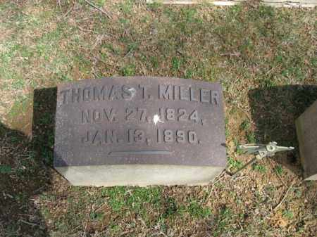 MILLER, THOMAS T. - Northampton County, Pennsylvania | THOMAS T. MILLER - Pennsylvania Gravestone Photos