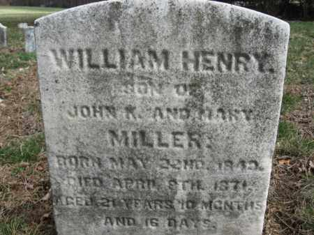 MILLER, WILLIAM HENRY - Northampton County, Pennsylvania | WILLIAM HENRY MILLER - Pennsylvania Gravestone Photos