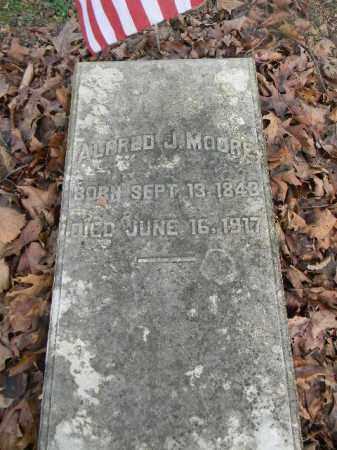 MOORE (CW), ALFRED J. - Northampton County, Pennsylvania | ALFRED J. MOORE (CW) - Pennsylvania Gravestone Photos