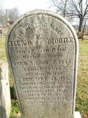 MOORE (CW), HENRY T. - Northampton County, Pennsylvania | HENRY T. MOORE (CW) - Pennsylvania Gravestone Photos