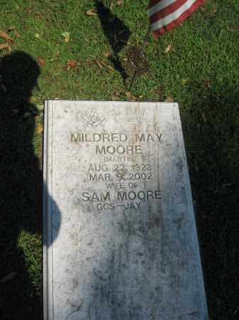 MARTIN MOORE, MILDRED MAY - Northampton County, Pennsylvania | MILDRED MAY MARTIN MOORE - Pennsylvania Gravestone Photos