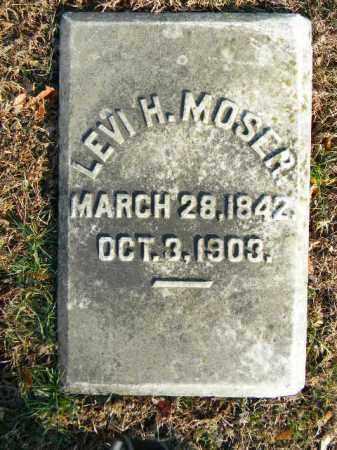 MOSER, LEVI H. - Northampton County, Pennsylvania | LEVI H. MOSER - Pennsylvania Gravestone Photos