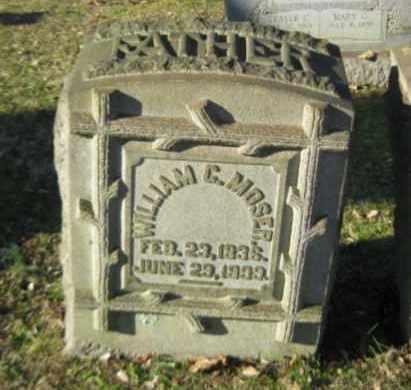 MOSER, WILLIAM C. - Northampton County, Pennsylvania   WILLIAM C. MOSER - Pennsylvania Gravestone Photos