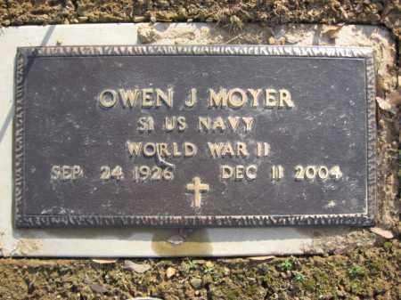 MOYER  (WW II), OWEN J. - Northampton County, Pennsylvania | OWEN J. MOYER  (WW II) - Pennsylvania Gravestone Photos