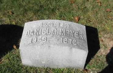 MOYER, DANIEL G. - Northampton County, Pennsylvania | DANIEL G. MOYER - Pennsylvania Gravestone Photos