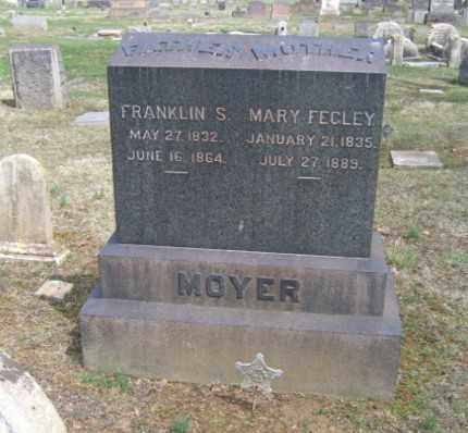 MOYER, FRANKLIN S. - Northampton County, Pennsylvania | FRANKLIN S. MOYER - Pennsylvania Gravestone Photos