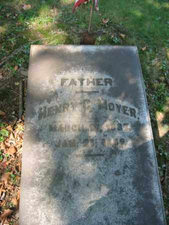MOYER, HENRY C. - Northampton County, Pennsylvania | HENRY C. MOYER - Pennsylvania Gravestone Photos