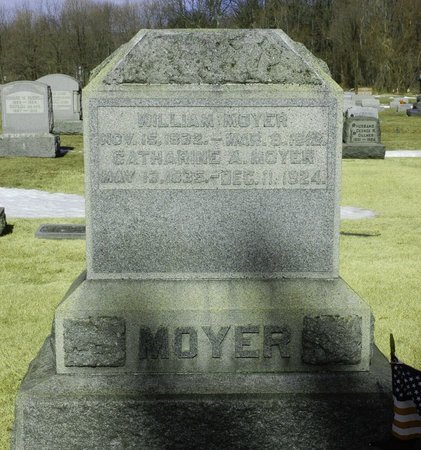 MOYER, WILLIAM - Northampton County, Pennsylvania | WILLIAM MOYER - Pennsylvania Gravestone Photos