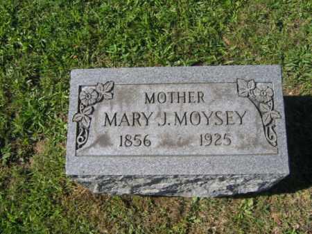 MOYSEY, MARY  J. - Northampton County, Pennsylvania   MARY  J. MOYSEY - Pennsylvania Gravestone Photos