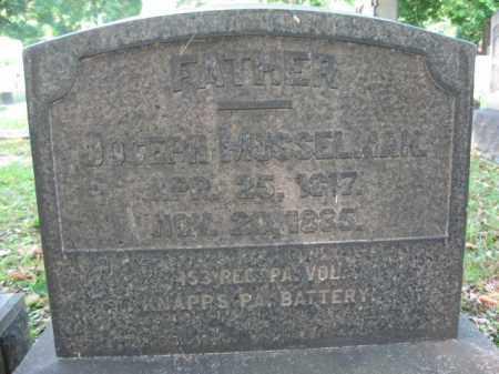 MUSSELMAN (CW), JOSEPH - Northampton County, Pennsylvania | JOSEPH MUSSELMAN (CW) - Pennsylvania Gravestone Photos