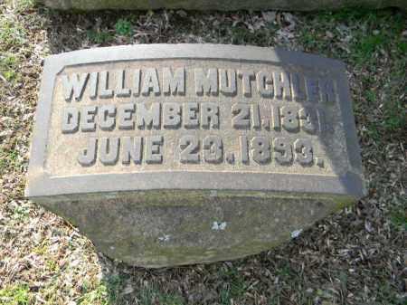 MUTCHLER (CW), WILLIAM - Northampton County, Pennsylvania | WILLIAM MUTCHLER (CW) - Pennsylvania Gravestone Photos