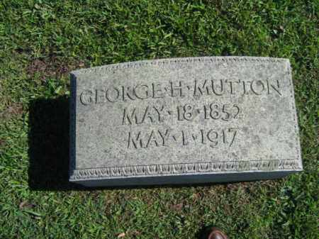 MUTTON, GEORGE - Northampton County, Pennsylvania | GEORGE MUTTON - Pennsylvania Gravestone Photos