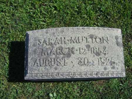 MUTTON, SARAH - Northampton County, Pennsylvania | SARAH MUTTON - Pennsylvania Gravestone Photos