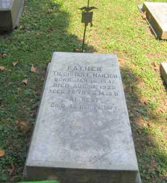 NAILICH, TILGHMAN F. - Northampton County, Pennsylvania | TILGHMAN F. NAILICH - Pennsylvania Gravestone Photos