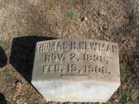 NEWMAN, THOMAS H. - Northampton County, Pennsylvania | THOMAS H. NEWMAN - Pennsylvania Gravestone Photos