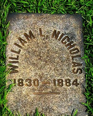 NICHOLAS (CW), WILLIAM L. - Northampton County, Pennsylvania | WILLIAM L. NICHOLAS (CW) - Pennsylvania Gravestone Photos