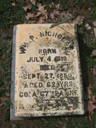 NICHOLAS (CW), WILLIAM P. - Northampton County, Pennsylvania | WILLIAM P. NICHOLAS (CW) - Pennsylvania Gravestone Photos