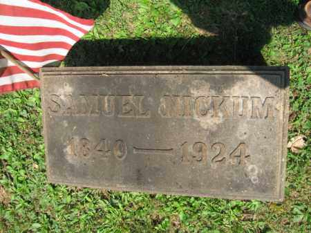 NICKUM  (CW), SAMUEL - Northampton County, Pennsylvania | SAMUEL NICKUM  (CW) - Pennsylvania Gravestone Photos