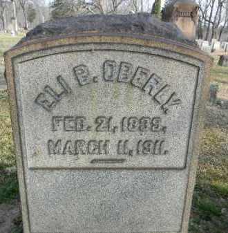 OBERLY, ELI P. - Northampton County, Pennsylvania | ELI P. OBERLY - Pennsylvania Gravestone Photos