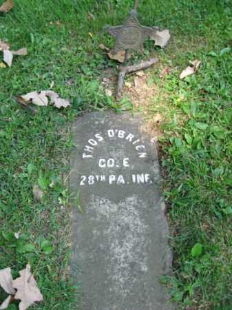O'BRIEN, THOMAS - Northampton County, Pennsylvania | THOMAS O'BRIEN - Pennsylvania Gravestone Photos