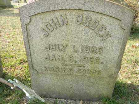 OGDEN (CW), JOHN - Northampton County, Pennsylvania   JOHN OGDEN (CW) - Pennsylvania Gravestone Photos