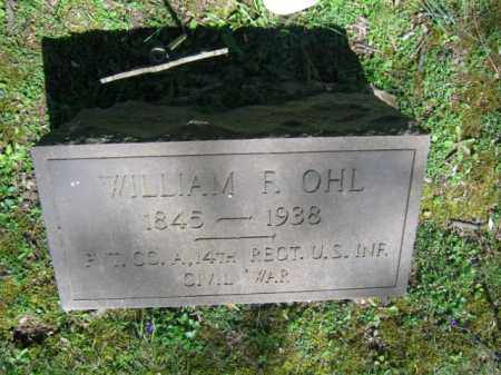 OHL (CW), WILLIAM F. - Northampton County, Pennsylvania | WILLIAM F. OHL (CW) - Pennsylvania Gravestone Photos