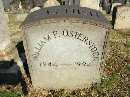 OSTERSTOCK, WILLIAM P. - Northampton County, Pennsylvania | WILLIAM P. OSTERSTOCK - Pennsylvania Gravestone Photos