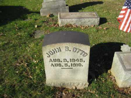 OTTO, JOHN B. - Northampton County, Pennsylvania | JOHN B. OTTO - Pennsylvania Gravestone Photos