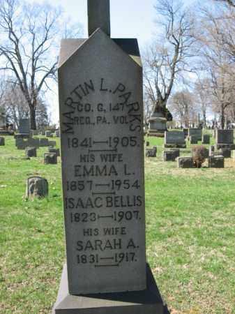 PARKS, MARTIN L. - Northampton County, Pennsylvania   MARTIN L. PARKS - Pennsylvania Gravestone Photos
