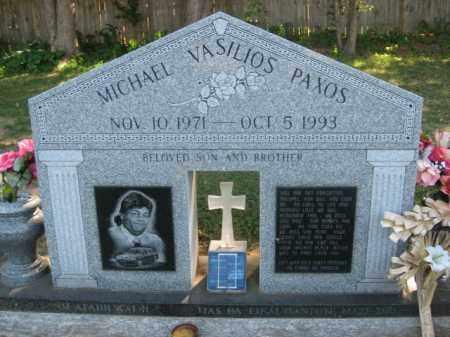 PAXOS, MICHAEL VASILIOS - Northampton County, Pennsylvania | MICHAEL VASILIOS PAXOS - Pennsylvania Gravestone Photos