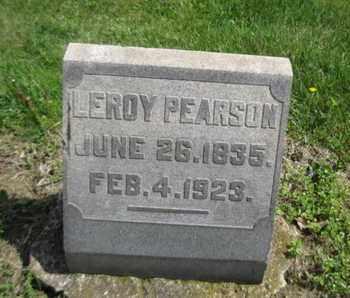 PEARSON, LEROY - Northampton County, Pennsylvania | LEROY PEARSON - Pennsylvania Gravestone Photos