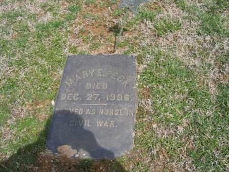 PECK (CW), MARY E. - Northampton County, Pennsylvania | MARY E. PECK (CW) - Pennsylvania Gravestone Photos