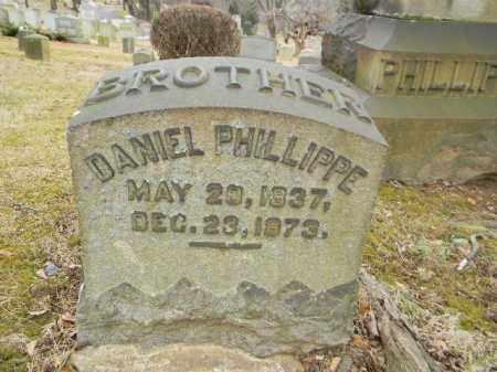 PHILLIPPE (PHILLIPPI) (CW), DANIEL - Northampton County, Pennsylvania | DANIEL PHILLIPPE (PHILLIPPI) (CW) - Pennsylvania Gravestone Photos