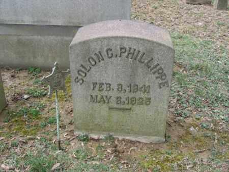 PHILLIPPE (CW), SOLON C. - Northampton County, Pennsylvania | SOLON C. PHILLIPPE (CW) - Pennsylvania Gravestone Photos