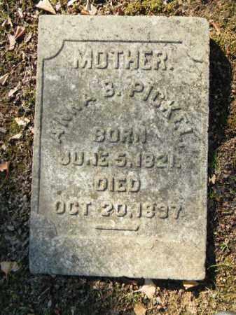 PICKEL, ANNA B. - Northampton County, Pennsylvania   ANNA B. PICKEL - Pennsylvania Gravestone Photos