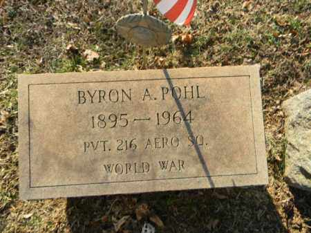 POHL (WW I), BYRON A. - Northampton County, Pennsylvania | BYRON A. POHL (WW I) - Pennsylvania Gravestone Photos