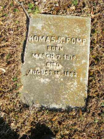 POMP, THOMAS R. - Northampton County, Pennsylvania | THOMAS R. POMP - Pennsylvania Gravestone Photos
