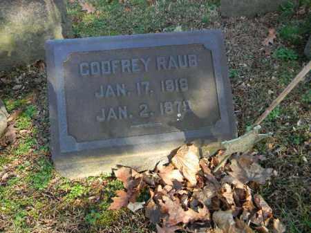RAUB, GODFREY - Northampton County, Pennsylvania | GODFREY RAUB - Pennsylvania Gravestone Photos