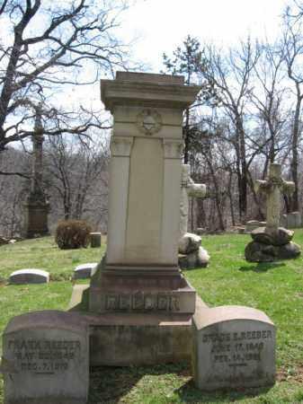 REEDER, CAPT. FRANK - Northampton County, Pennsylvania   CAPT. FRANK REEDER - Pennsylvania Gravestone Photos