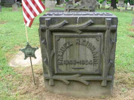 REICHARD, SAMUEL - Northampton County, Pennsylvania | SAMUEL REICHARD - Pennsylvania Gravestone Photos