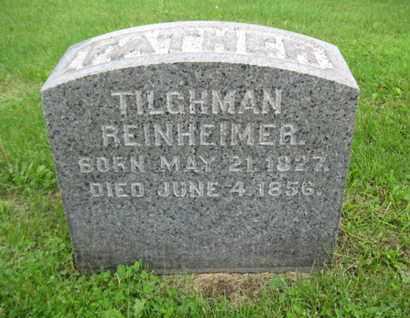 REINHEIMER, TILGHEIMER - Northampton County, Pennsylvania | TILGHEIMER REINHEIMER - Pennsylvania Gravestone Photos