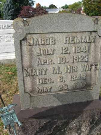 REMALY, MARY M. - Northampton County, Pennsylvania   MARY M. REMALY - Pennsylvania Gravestone Photos