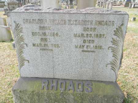RHOADS (CW), CHARLES H. - Northampton County, Pennsylvania | CHARLES H. RHOADS (CW) - Pennsylvania Gravestone Photos