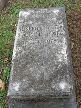 RIEGLE, JOSEPH K. - Northampton County, Pennsylvania | JOSEPH K. RIEGLE - Pennsylvania Gravestone Photos