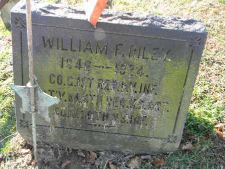 RILEY (CW), WILLIAM F. - Northampton County, Pennsylvania   WILLIAM F. RILEY (CW) - Pennsylvania Gravestone Photos