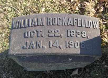 ROCKAFELLOW (CW), WILLIAM - Northampton County, Pennsylvania | WILLIAM ROCKAFELLOW (CW) - Pennsylvania Gravestone Photos